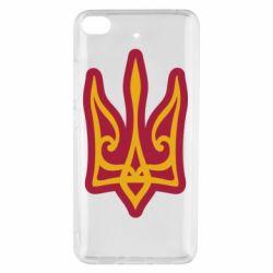 Чохол для Xiaomi Mi 5s Ukrainian trident with contour