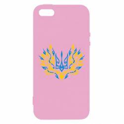 Купить Авторские принты, Чехол для iPhone5/5S/SE Ukrainian trident with monograms, FatLine