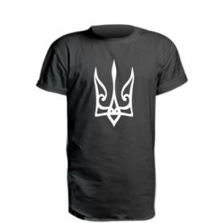 Подовжена футболка Ukrainian trident