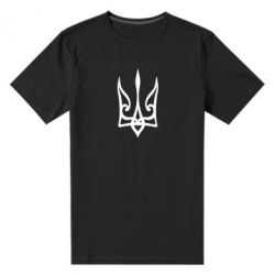 Чоловіча стрейчева футболка Ukrainian trident