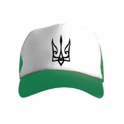 Дитяча кепка-тракер Ukrainian trident