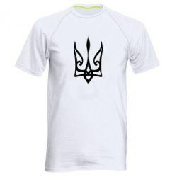 Чоловіча спортивна футболка Ukrainian trident