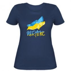Женская футболка Ukrainian Wolf - FatLine