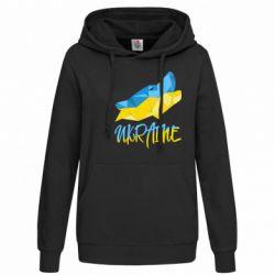 Женская толстовка Ukrainian Wolf - FatLine