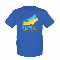 Детская футболка Ukrainian Wolf - FatLine