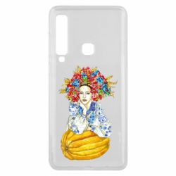 Чохол для Samsung A9 2018 Українка в вінку і вишиванці