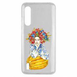 Чохол для Xiaomi Mi9 Lite Українка в вінку і вишиванці