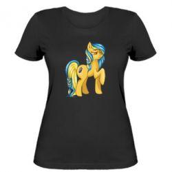 """Женская футболка """"Українська конячка"""" - FatLine"""