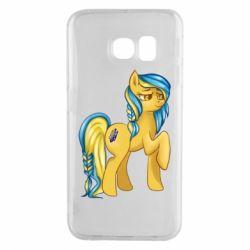 "Чохол для Samsung S6 EDGE ""Українська конячка"""