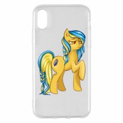 "Чохол для iPhone X/Xs ""Українська конячка"""