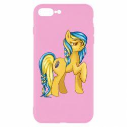 """Чохол для iPhone 7 Plus """"Українська конячка"""""""