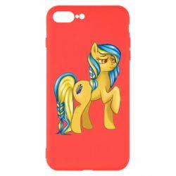 """Чохол для iPhone 8 Plus """"Українська конячка"""""""