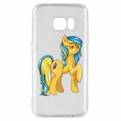"""Чохол для Samsung S7 """"Українська конячка"""""""