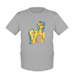 """Детская футболка """"Українська конячка"""" - FatLine"""