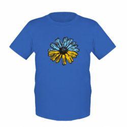 Детская футболка Українська квітка - FatLine