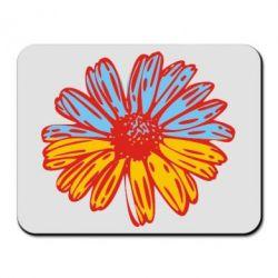 Килимок для миші Українська квітка