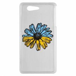 Чехол для Sony Xperia Z3 mini Українська квітка - FatLine
