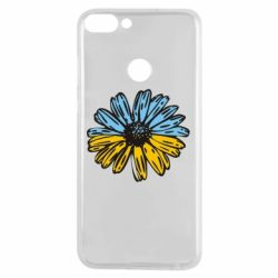 Чехол для Huawei P Smart Українська квітка - FatLine
