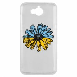 Чехол для Huawei Y5 2017 Українська квітка - FatLine