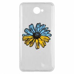 Чехол для Huawei Y7 2017 Українська квітка - FatLine