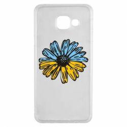 Чехол для Samsung A3 2016 Українська квітка