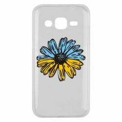 Чохол для Samsung J2 2015 Українська квітка