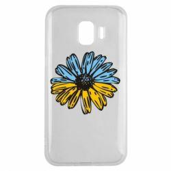 Чохол для Samsung J2 2018 Українська квітка
