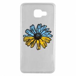 Чехол для Samsung A7 2016 Українська квітка