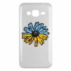 Чехол для Samsung J3 2016 Українська квітка