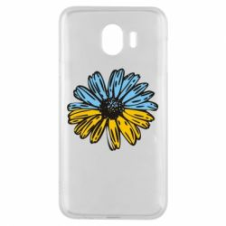 Чохол для Samsung J4 Українська квітка