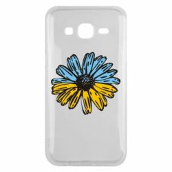 Чехол для Samsung J5 2015 Українська квітка