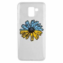 Чохол для Samsung J6 Українська квітка