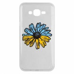 Чехол для Samsung J7 2015 Українська квітка