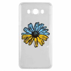 Чохол для Samsung J7 2016 Українська квітка