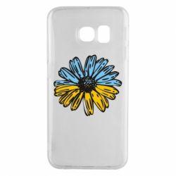 Чехол для Samsung S6 EDGE Українська квітка
