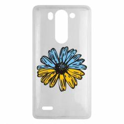 Чехол для LG G3 mini/G3s Українська квітка - FatLine