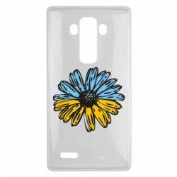 Чехол для LG G4 Українська квітка - FatLine