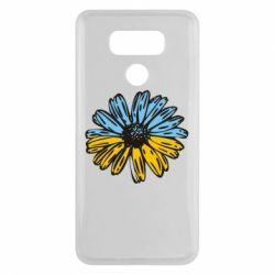 Чехол для LG G6 Українська квітка - FatLine