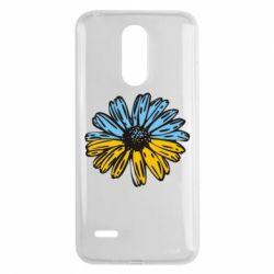 Чехол для LG K8 2017 Українська квітка - FatLine
