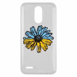 Чехол для LG K10 2017 Українська квітка - FatLine