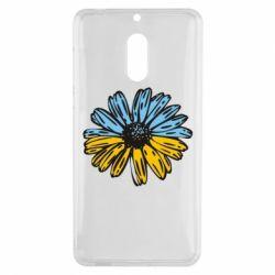 Чехол для Nokia 6 Українська квітка - FatLine
