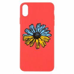Чехол для iPhone Xs Max Українська квітка