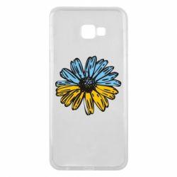 Чохол для Samsung J4 Plus 2018 Українська квітка