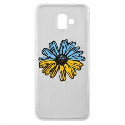 Чохол для Samsung J6 Plus 2018 Українська квітка