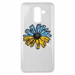 Чохол для Samsung J8 2018 Українська квітка