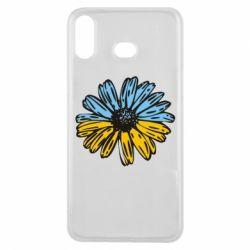 Чехол для Samsung A6s Українська квітка