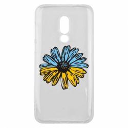 Чехол для Meizu 16 Українська квітка - FatLine