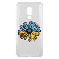 Чехол для Meizu 16x Українська квітка - FatLine