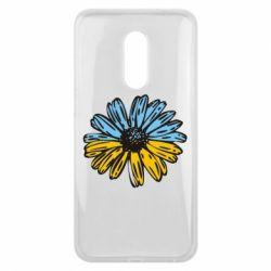 Чехол для Meizu 16 plus Українська квітка - FatLine