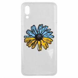 Чехол для Meizu E3 Українська квітка - FatLine